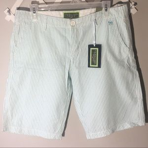 U.S. POLO ASSN Seersucker Bermuda Shorts